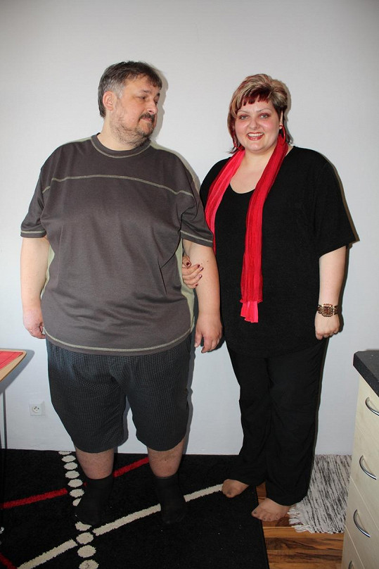 Michal a Jana Matoušovi po úbytku 50 kilogramů vypadají úplně jinak.