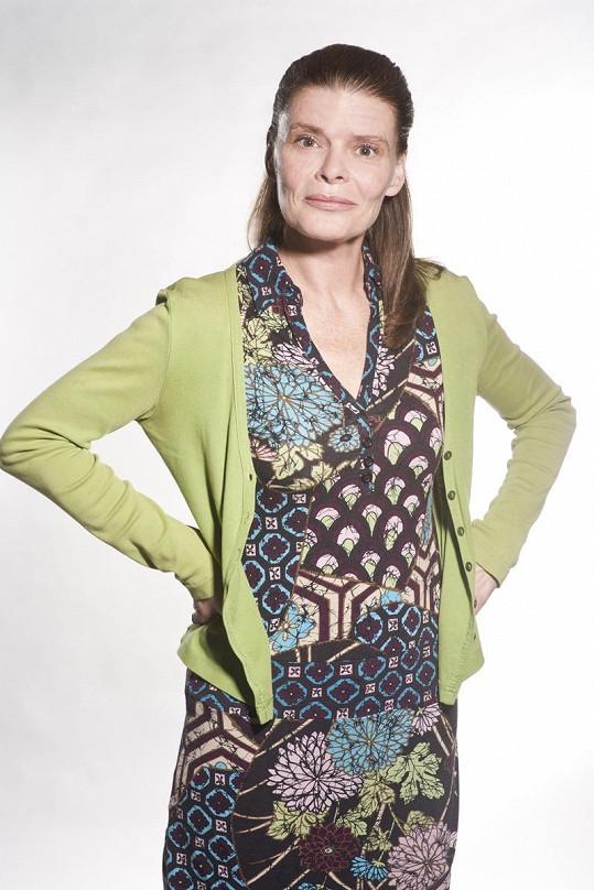 Zuzana Bydžovská si v seriálu Gympl s (r)učením omezeným zahraje životem težce zkoušenou učitelku.