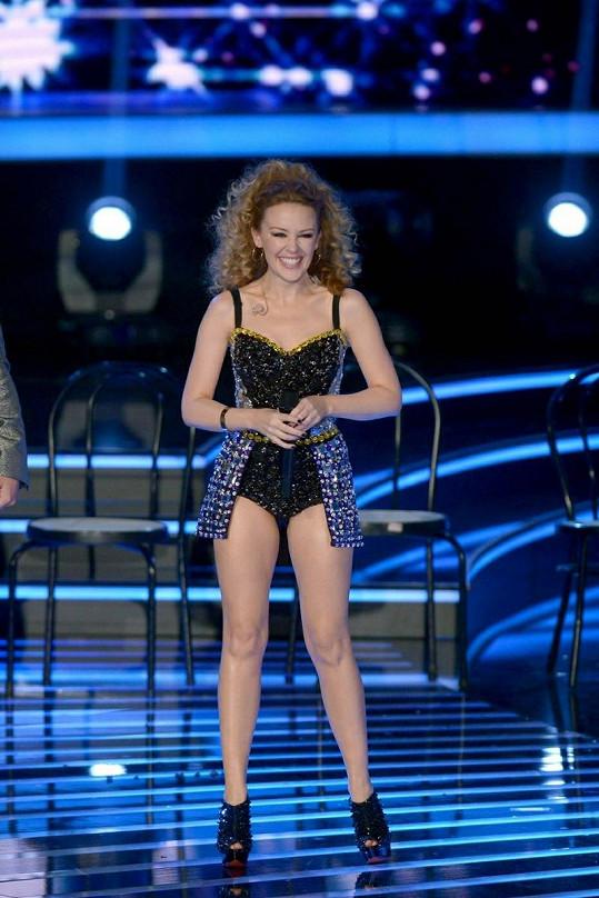 Kylie Minogue v Itálii.