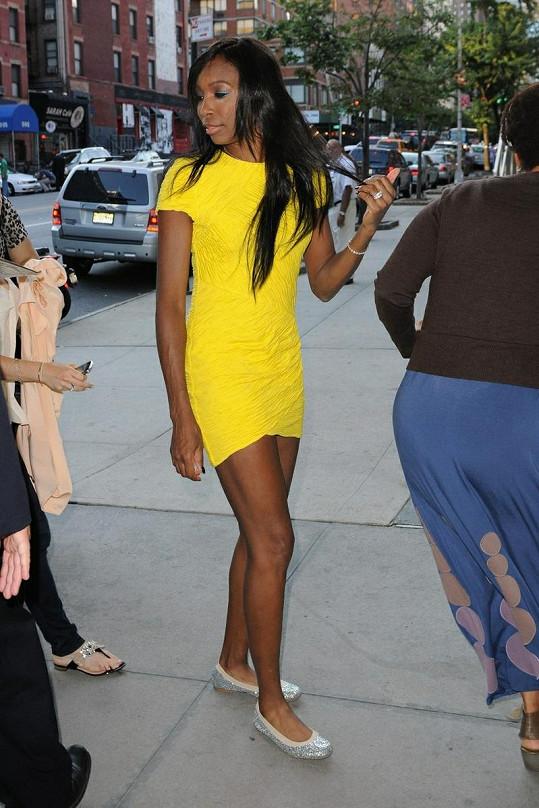 Venus a její nekonečně dlouhé gazelí nohy.