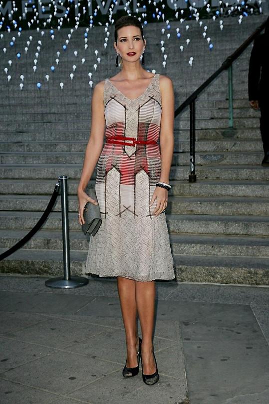 Ivanka na Tribeca Film Festival v New Yorku.