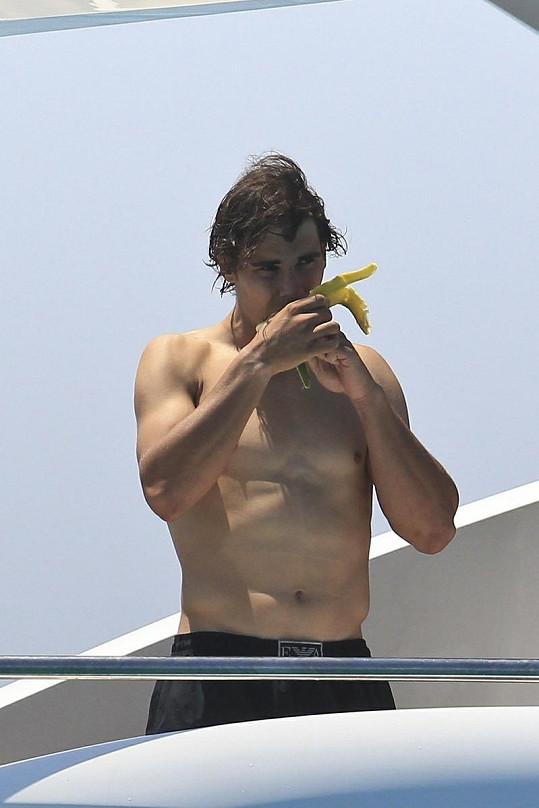 Krasavec Rafael Nadal.