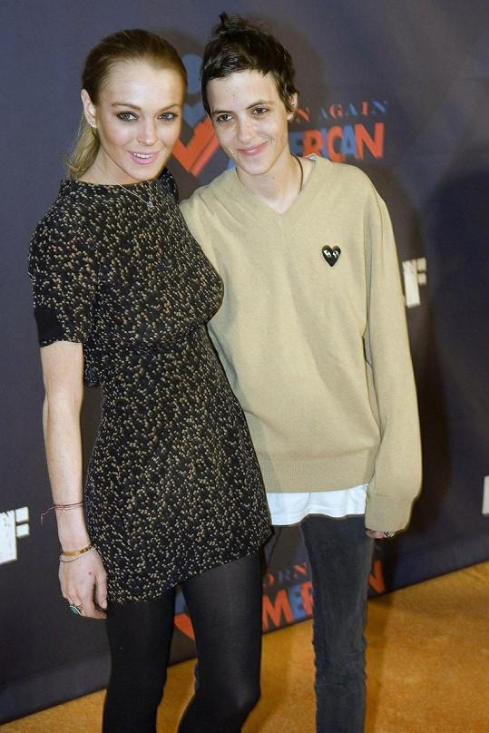 Lindsay Lohan a Samantha Ronson