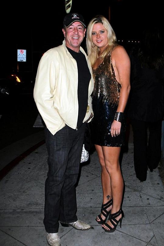 Michael Lohan se svou někdejší přítelkyní Kate Major.