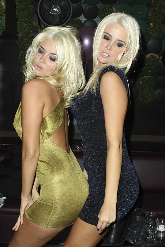 Svůdná dvojčata Karissa a Kristina Shannon.