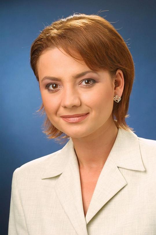 Takhle vypadala Jolana Voldánová v roce 2001.