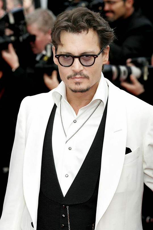 Idolem Radky je i Johnny Depp