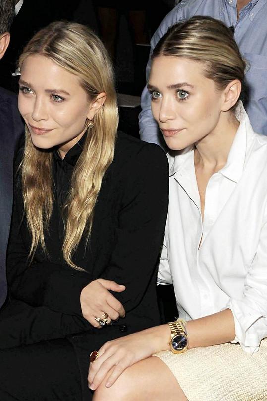 Ashley a Mary-Kate Olsen jsou si velice podobné, jsou však dvojvaječná dvojčata.