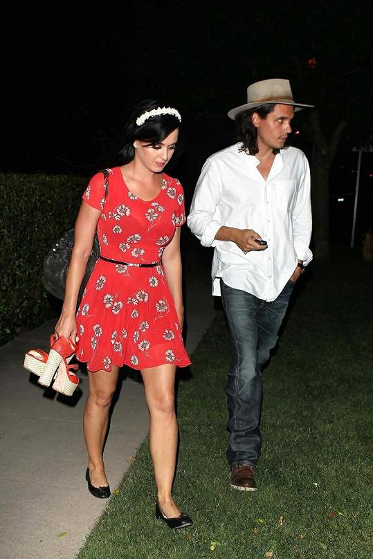 Katy Perry a John Mayer.