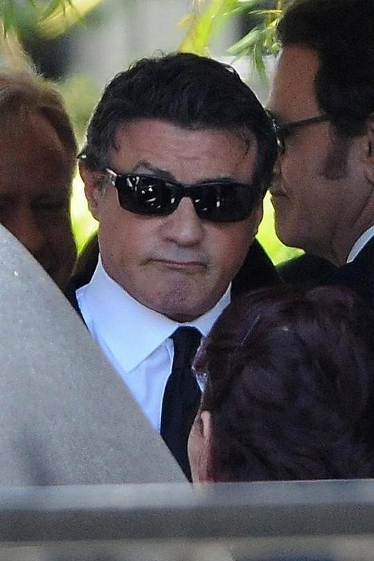 Zarmoucený Stallone.