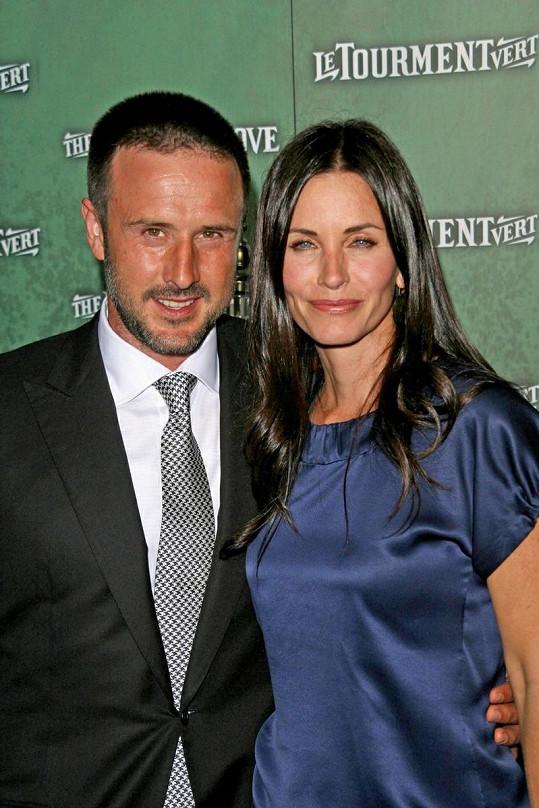 Courteney žije od rozchodu s Davidem Arquettem v celibátu.
