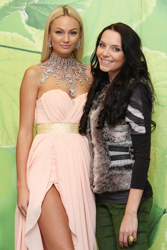 S mladou módní návrhářkou Miriam Janásovou.
