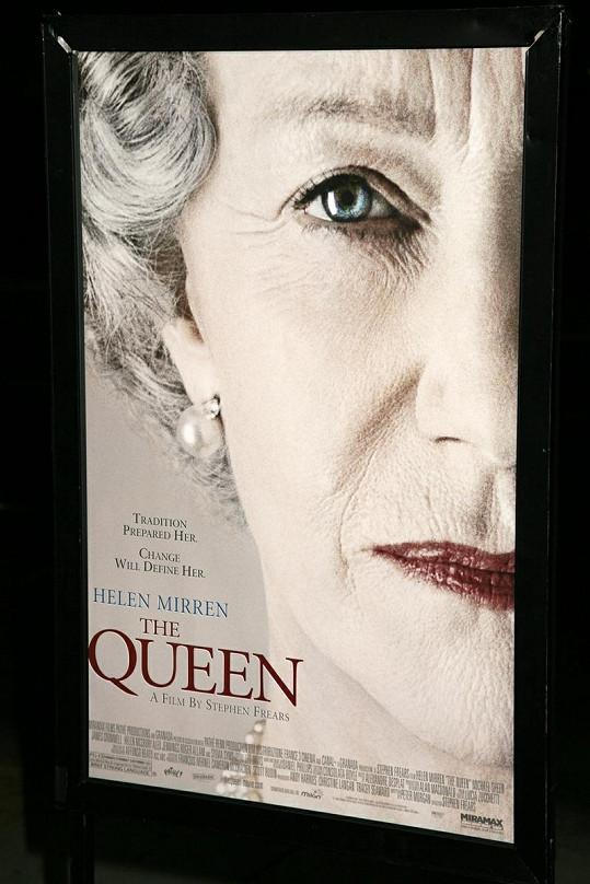 Helen Mirren ve filmu The Queen, ve kterém ztvárnila královnu Alžbětu II.