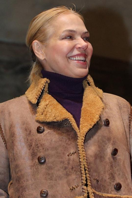 Dagmar Havlová měla radost.