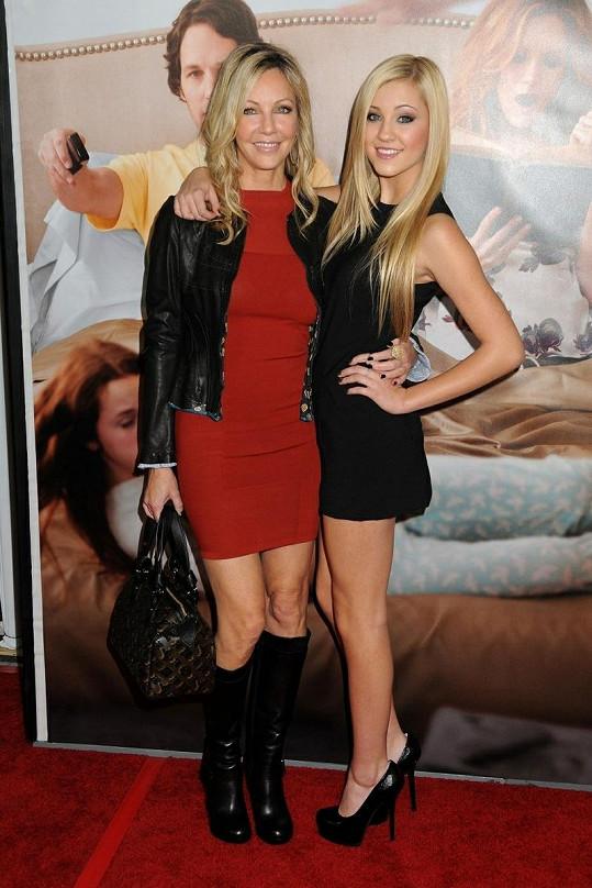 Heather Locklear si s dcerou Avou na nedostatek krásy stěžovat nemohou.