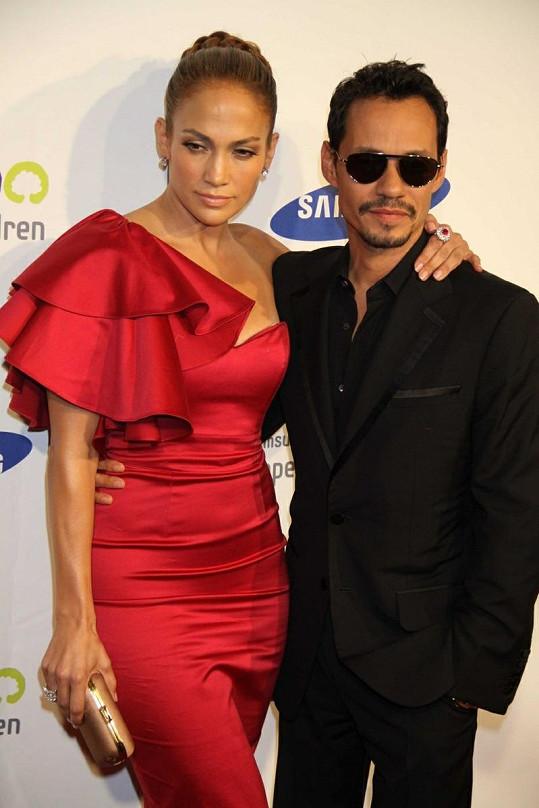 Jennifer Lopez a Marc Anthony: Tenhle nádherný pár už je minulostí.