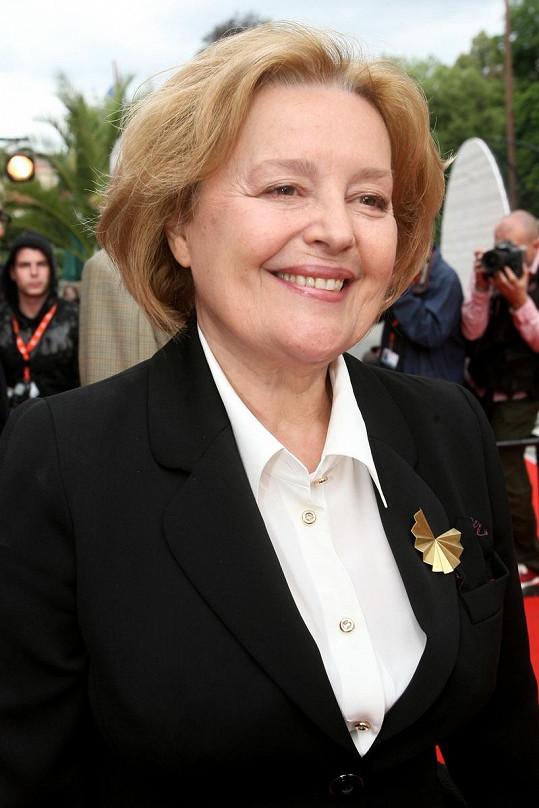 Magda Vašáryová je stále krásná i v součanosti.