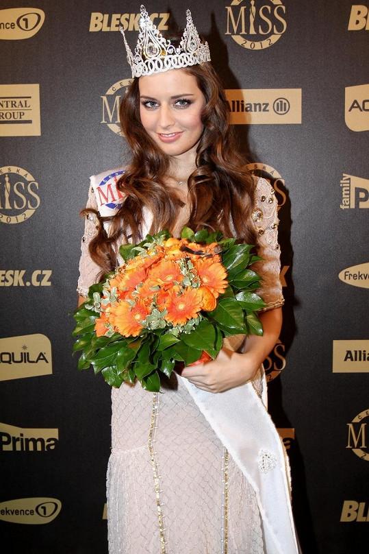 Česká Miss 2012 Tereza Chlebovská.