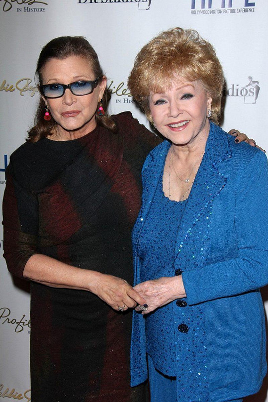 Carrie Fisher a Debbie Reynolds
