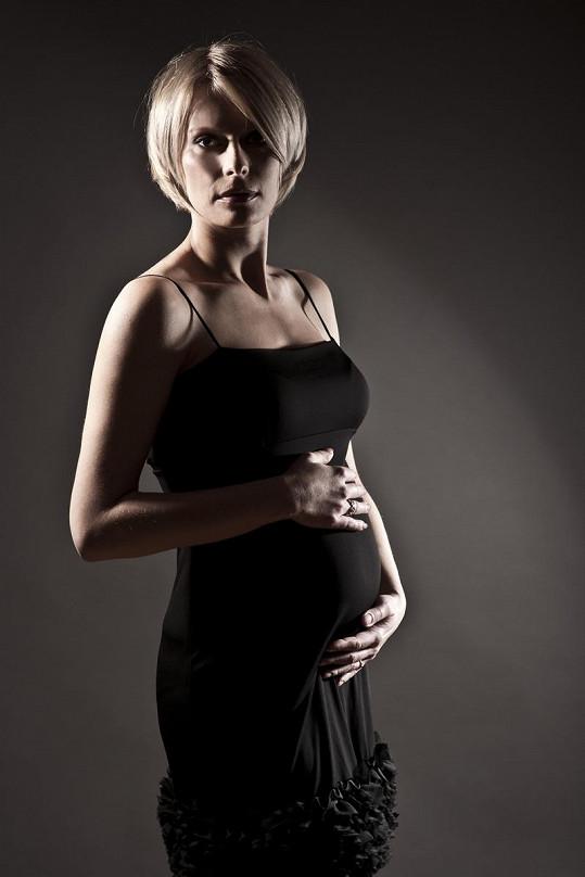 Kristina už je maminkou.