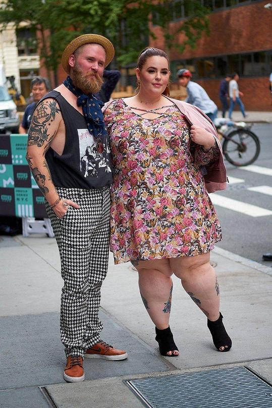 Tess s manželem