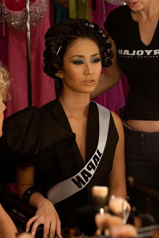 Miss Japonsko Maria Kamiyana.