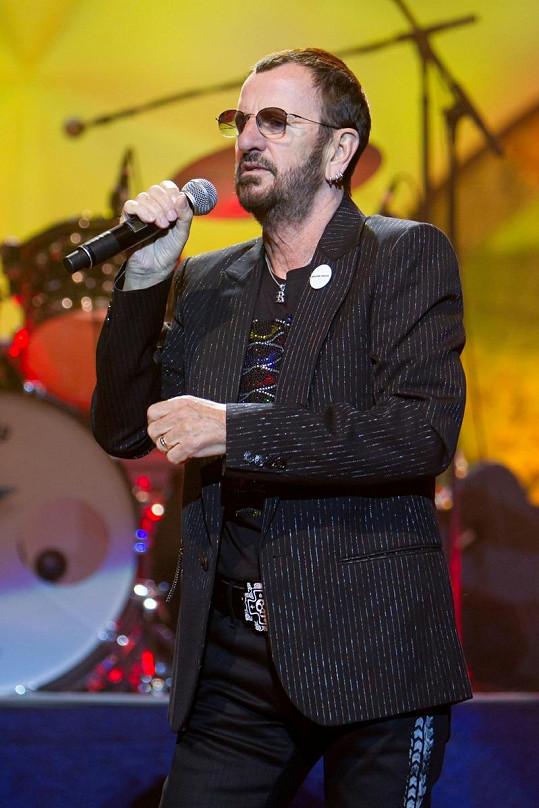 Ringo Starr ve středu vystoupí v Praze.