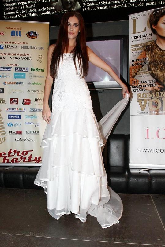 Hana Svobodová je krásná nevěsta.