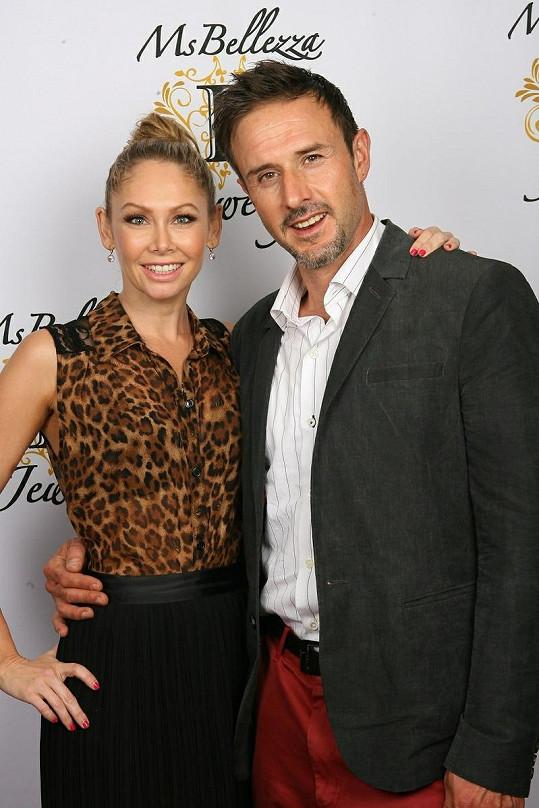 David Arquette s taneční partnerkou Kym Johnson.