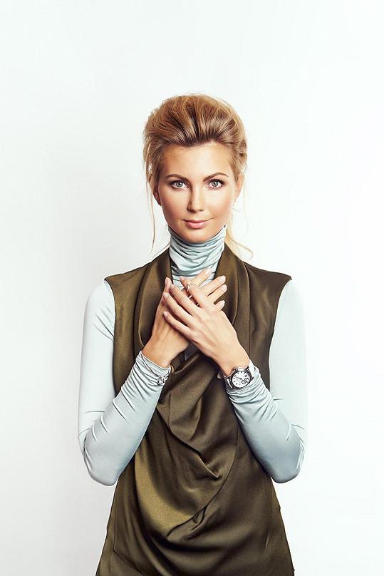 Fotila kampaň na hodinky.