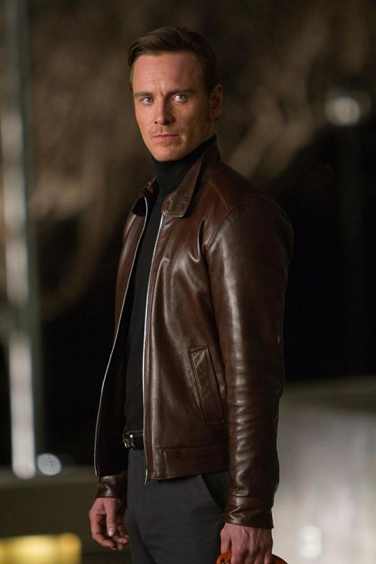 Michael Fassbender, který si zahrál doktora Junga.