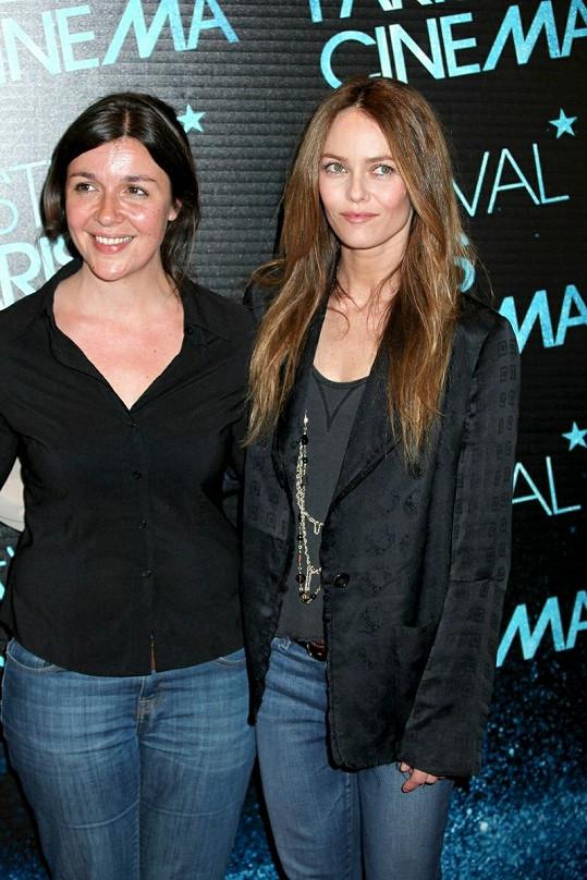 Vanessa v Paříži na premiéře filmu Je me Suis Fait Tout Petit.
