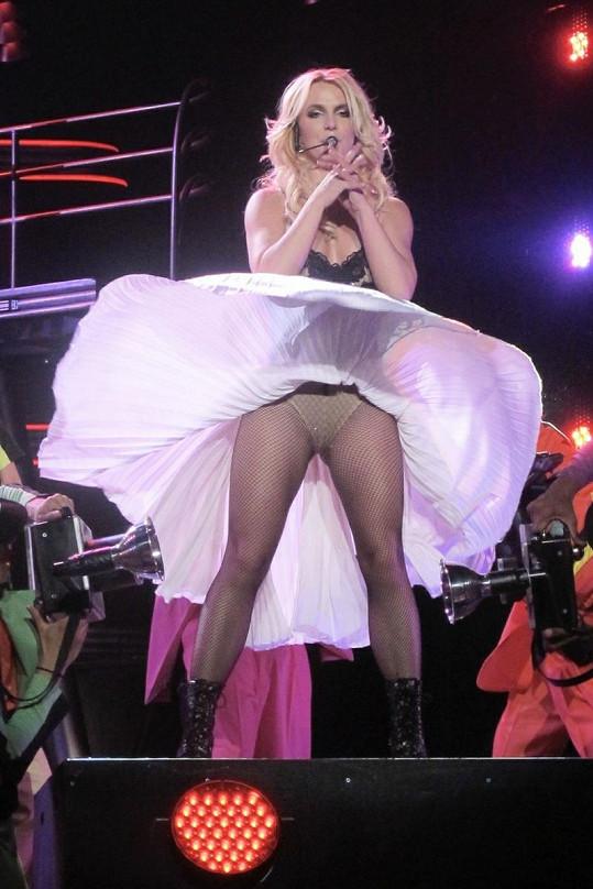 Britney si zahrála i na Marilyn Monroe.