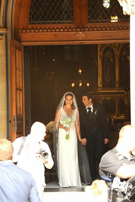 Novomanželé Buffonovi