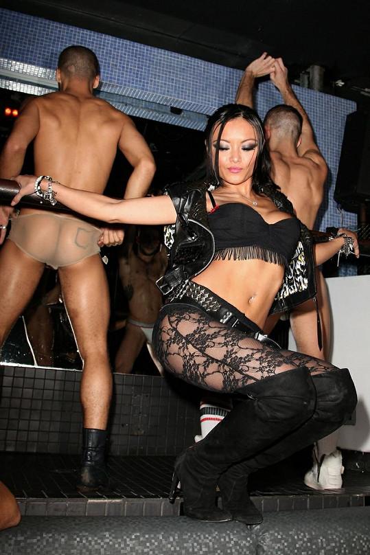Sexy Tila před časem v klubu Splash Bar v New Yorku.
