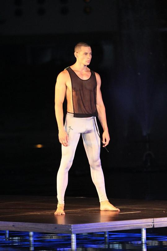Michal Gajdošek a ostatní modelové předváděli sexy prádlo americké značky ze San Diega.