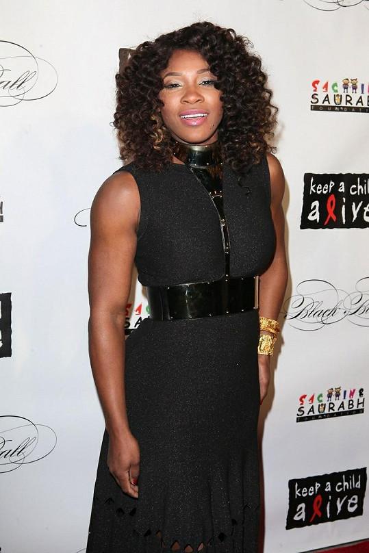 Serena na charitativní akci Keep A Child Alive v New Yorku.