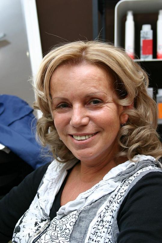 Hana Krampolová omládla o spoustu let.