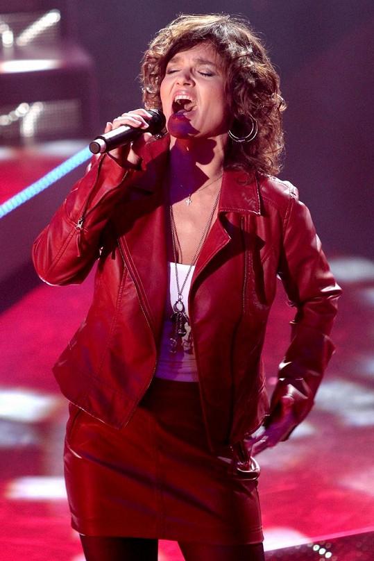 Tanja na koncertě v roce 2012