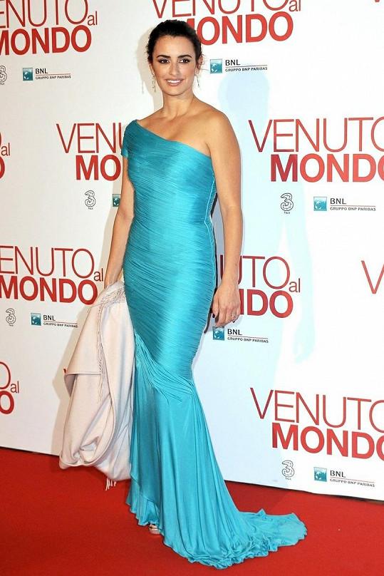 Penélope Cruz na premiéře filmu Twice Born.