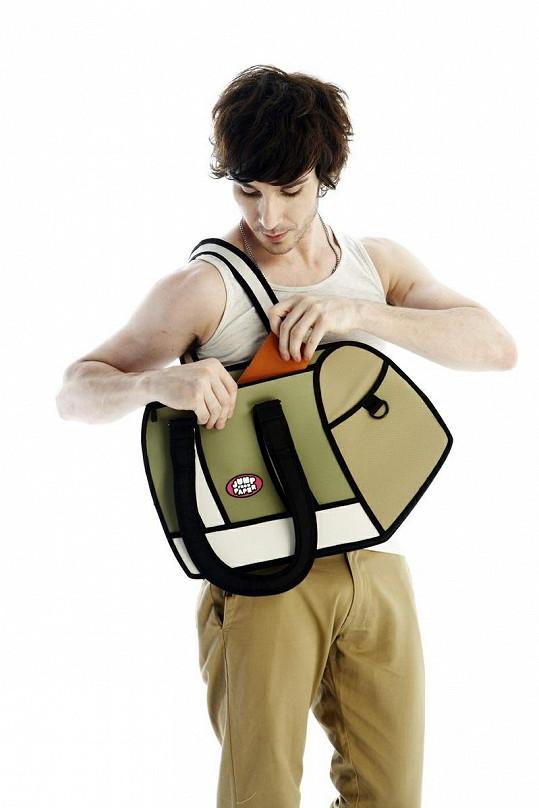 Tašky jsou určené jak ženám, tak i mužům.
