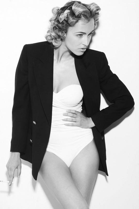 Renata Langmannová je jako modelka velmi úspěšná.
