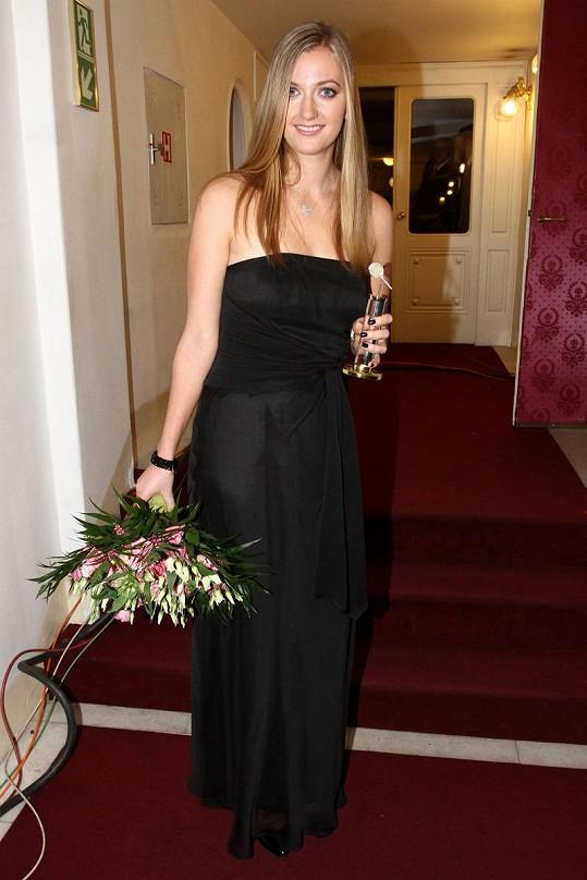 Petra Kvitová vypadala nádherně.