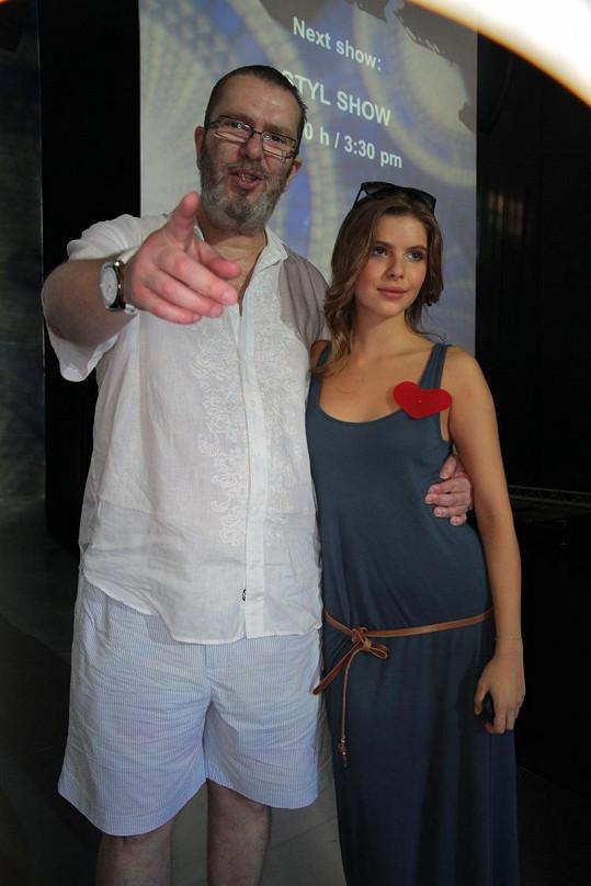 Richard Müller je na dceru Emu pyšný.