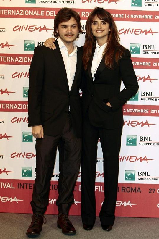 Penelope Cruz a Emile Hirsch.
