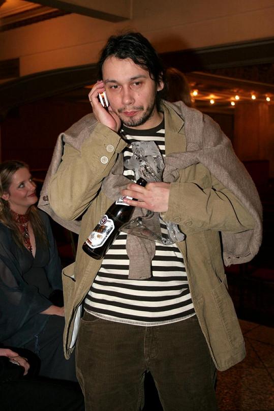 Pavel Liška s lahváčem.