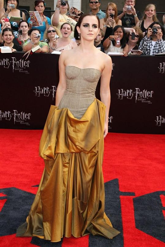 Údajná záclona Emmy Watson.