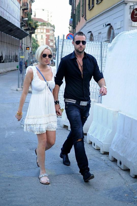 Lindsay Lohan a Philipp Plein.