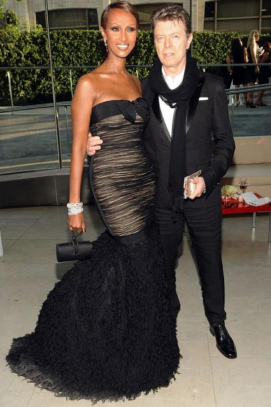 Somálská modelka je za Davida Bowieho provdaná už dvacet let.