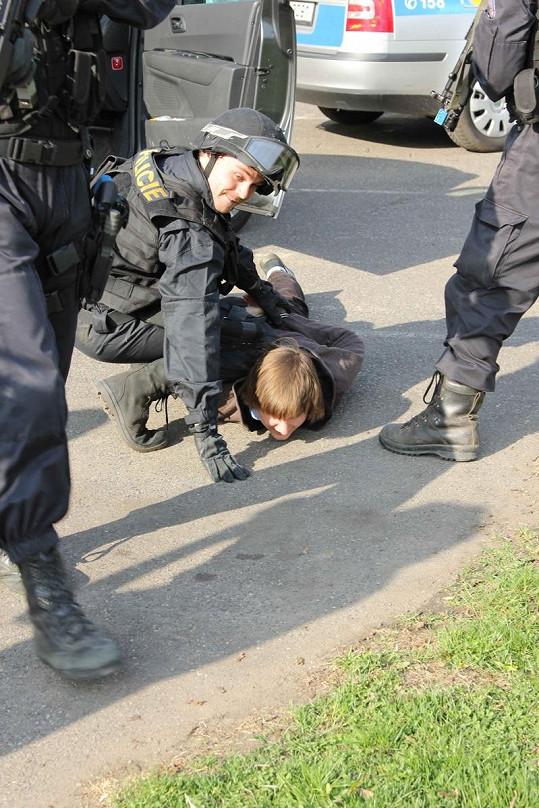 """Roman Buťa si """"zatčení"""" svého kolegy Venclíka užil."""